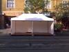 6m x3m – es sátor padlózattal Kispest Városi napok
