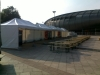 5db 6m x 3m - es sátor a Sportarána előtt